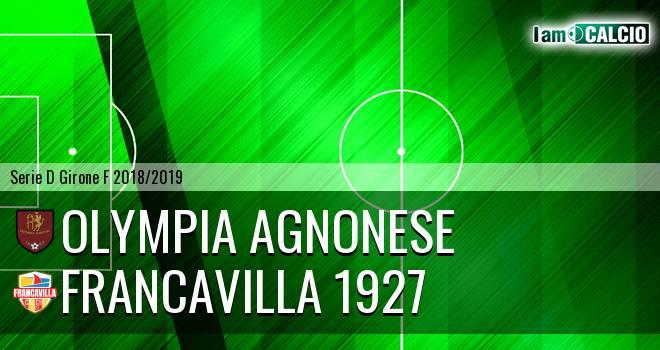 Olympia Agnonese - Francavilla 1927