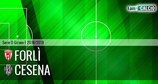 Forlì - Cesena 1-2. Cronaca Diretta 13/02/2019