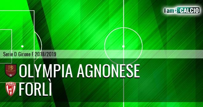 Olympia Agnonese - Forlì