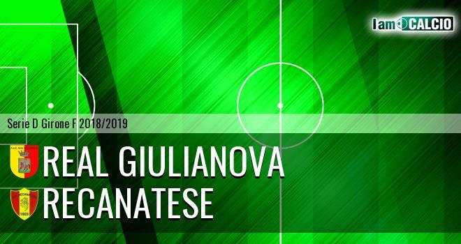 Real Giulianova - Recanatese