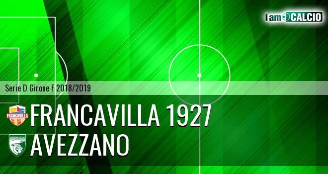 Francavilla 1927 - Avezzano