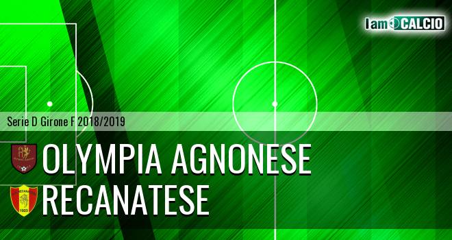 Olympia Agnonese - Recanatese
