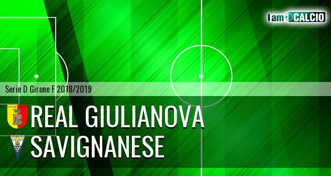Real Giulianova - Savignanese