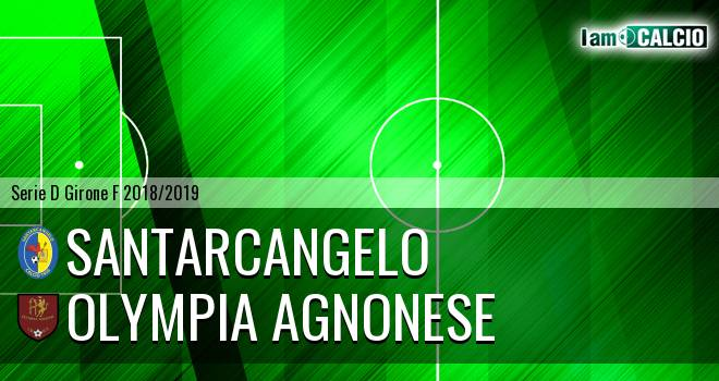 Santarcangelo - Olympia Agnonese