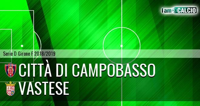 Città di Campobasso - Vastese 3-0. Cronaca Diretta 17/03/2019