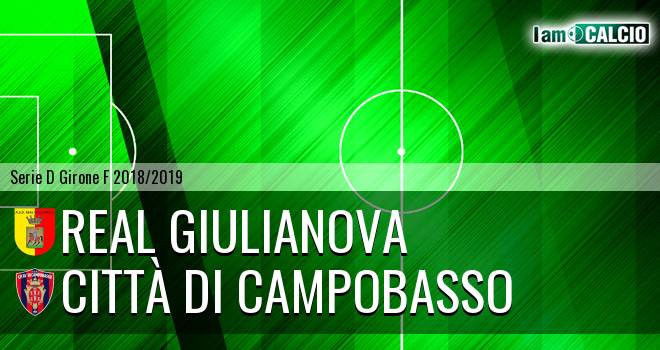 Real Giulianova - Città di Campobasso 2-0. Cronaca Diretta 24/03/2019