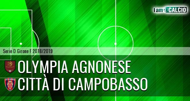 Olympia Agnonese - Città di Campobasso