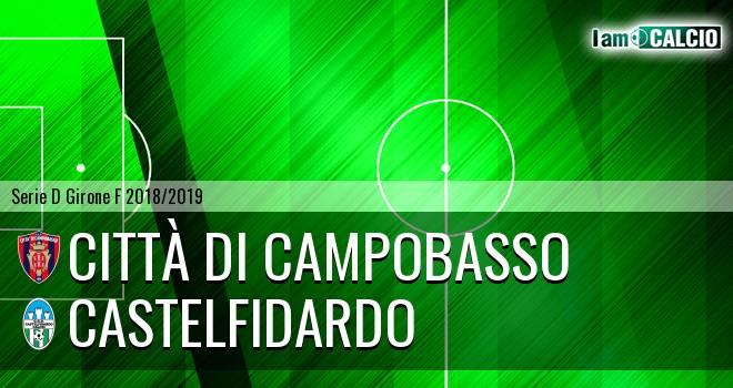 Città di Campobasso - Castelfidardo 3-4. Cronaca Diretta 14/04/2019