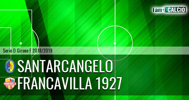 Santarcangelo - Francavilla 1927