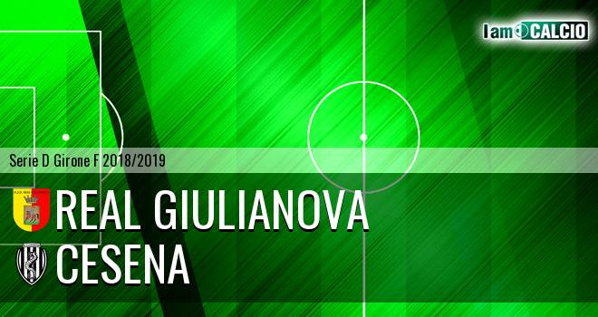 Real Giulianova - Cesena