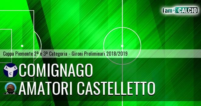 Comignago - Amatori Castelletto