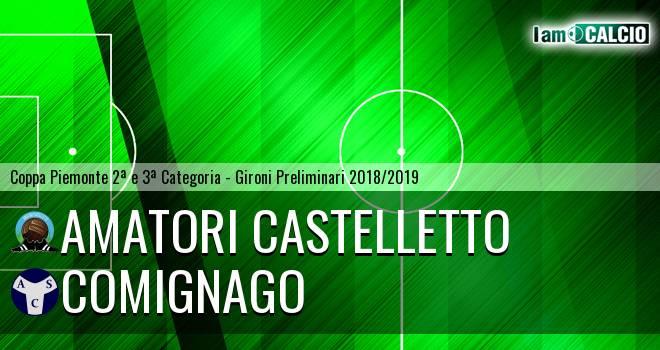 Amatori Castelletto - Comignago