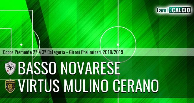 Basso Novarese - Virtus Mulino Cerano