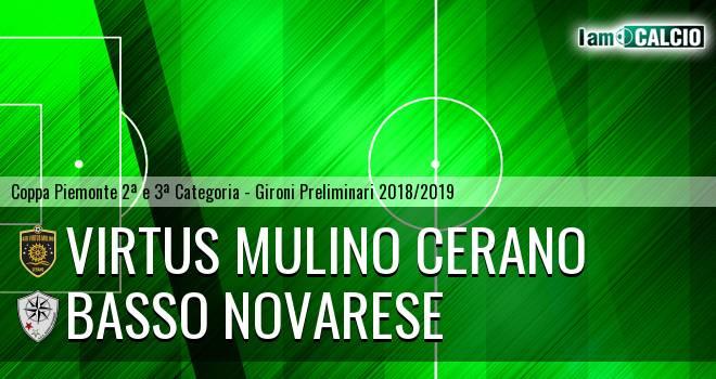 Virtus Mulino Cerano - Basso Novarese