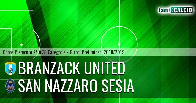 Branzack United - San Nazzaro Sesia