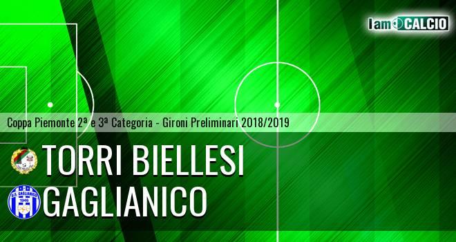 Torri Biellesi - Gaglianico 0-0. Cronaca Diretta 10/10/2018
