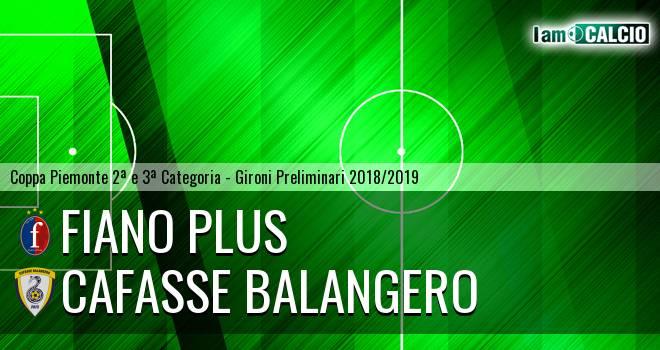 Fiano Plus - Cafasse Balangero