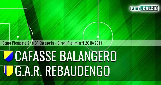 Cafasse Balangero - G.A.R. Rebaudengo