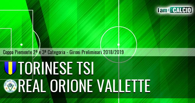 Torinese TSI - Real Orione Vallette