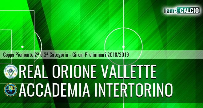 Real Orione Vallette - Accademia Intertorino