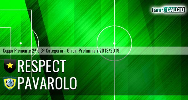 Respect - Pavarolo Calcio