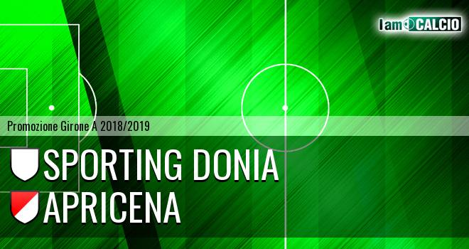 Sporting Donia - Sporting Apricena