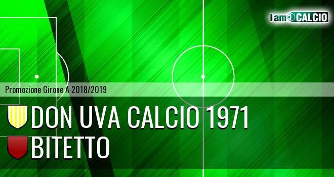 Don Uva Calcio 1971 - Bitetto