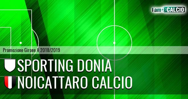 Sporting Donia - Noicattaro Calcio