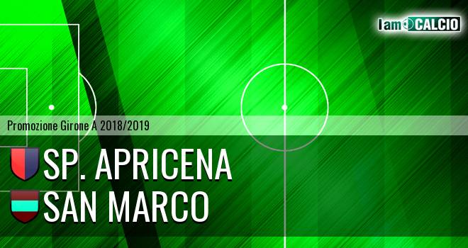 Sporting Apricena - San Marco