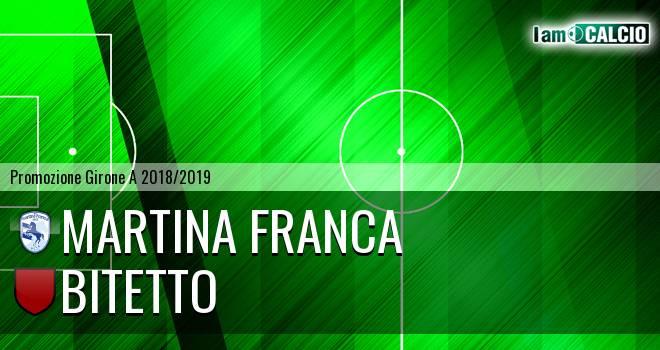 Martina Calcio 1947 - Bitetto