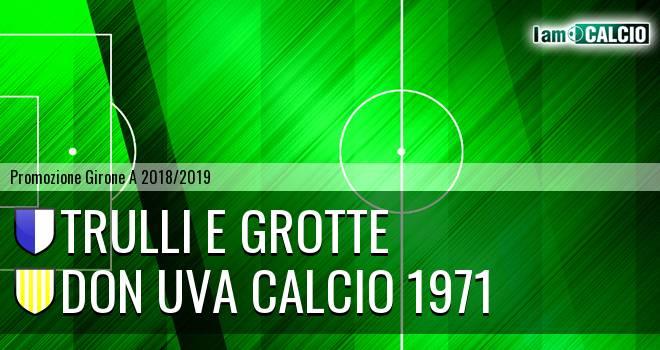 Trulli e Grotte - Don Uva Calcio 1971