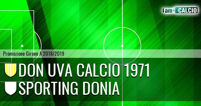 Don Uva Calcio 1971 - Sporting Donia