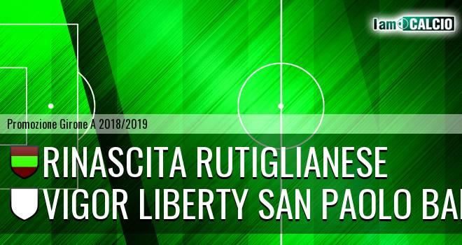 Rinascita Rutiglianese - Vigor Liberty San Paolo Bari