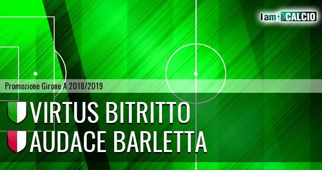 Vigor Bitritto - Audace Barletta
