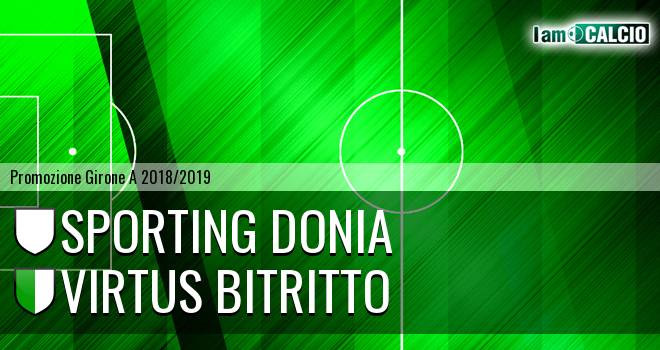 Sporting Donia - Virtus Bitritto