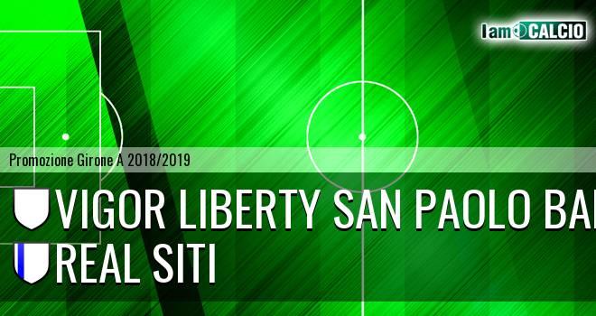 Vigor Liberty San Paolo Bari - Real Siti
