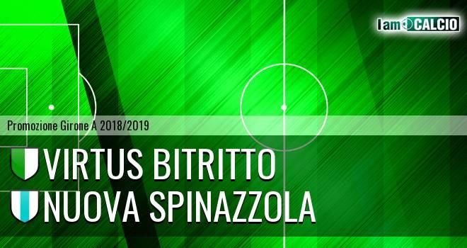 Vigor Bitritto - Nuova Spinazzola