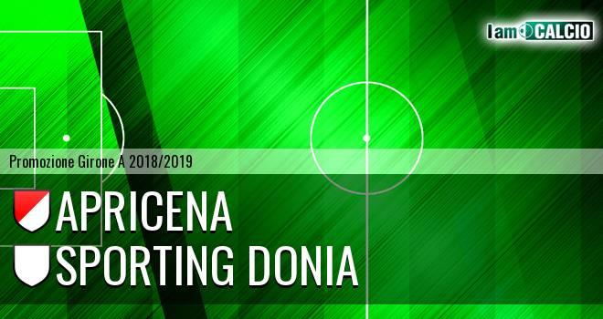 Sporting Apricena - Sporting Donia