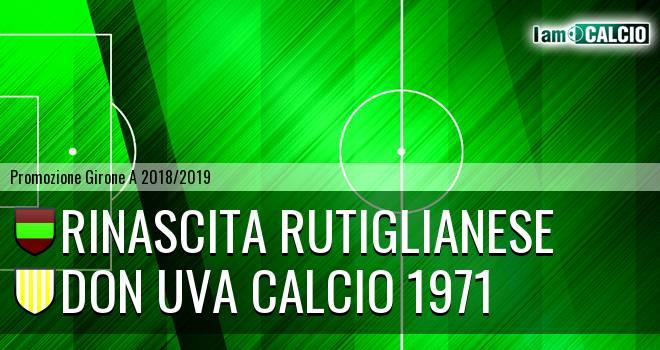 Rinascita Rutiglianese - Don Uva Calcio 1971