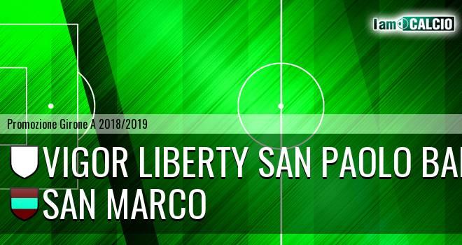 Vigor Liberty San Paolo Bari - San Marco