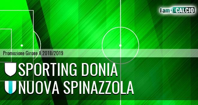 Sporting Donia - Nuova Spinazzola