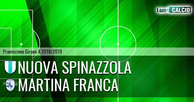 Nuova Spinazzola - Martina Calcio 1947