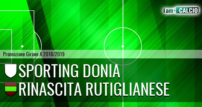 Sporting Donia - Rinascita Rutiglianese