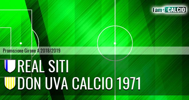 Real Siti - Don Uva Calcio 1971