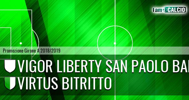 Vigor Liberty San Paolo Bari - Virtus Bitritto