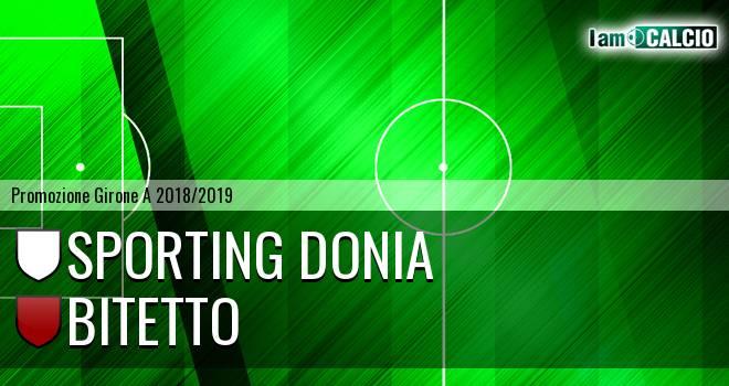 Sporting Donia - Bitetto