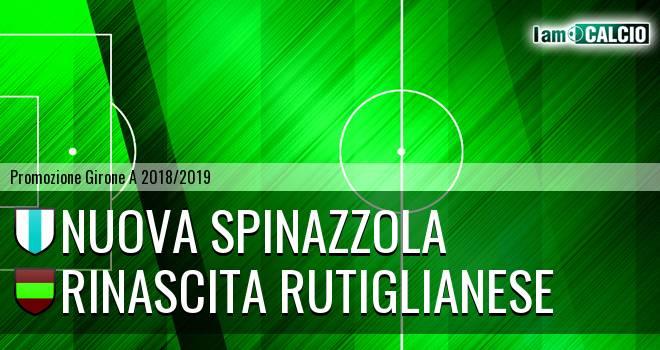 Nuova Spinazzola - Rinascita Rutiglianese