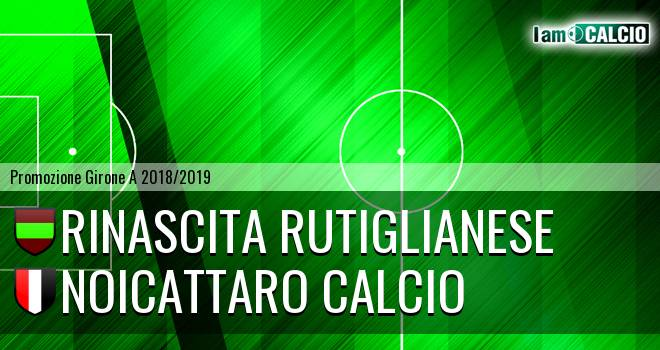 Rinascita Rutiglianese - Noicattaro Calcio