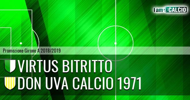 Virtus Bitritto - Don Uva Calcio 1971