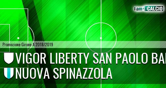 Vigor Liberty San Paolo Bari - Nuova Spinazzola